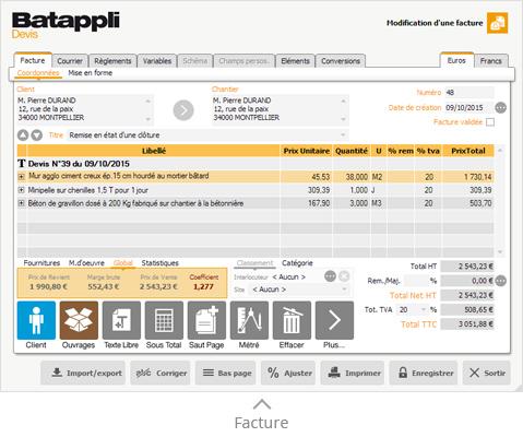 Batappli Devis artisans