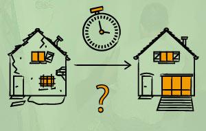 Comment évaluer la vraie durée du chantier ?