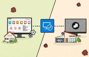 [Tuto] Comment installer le bureau à distance et utiliser le télétravail pour sa gestion bâtiment Batappli ?