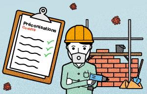 Le Guide de sécurité Covid-19 pour les chantiers enfin disponible