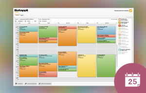 [Nouveauté] Améliorer la visibilité de son agenda avec de la couleurs