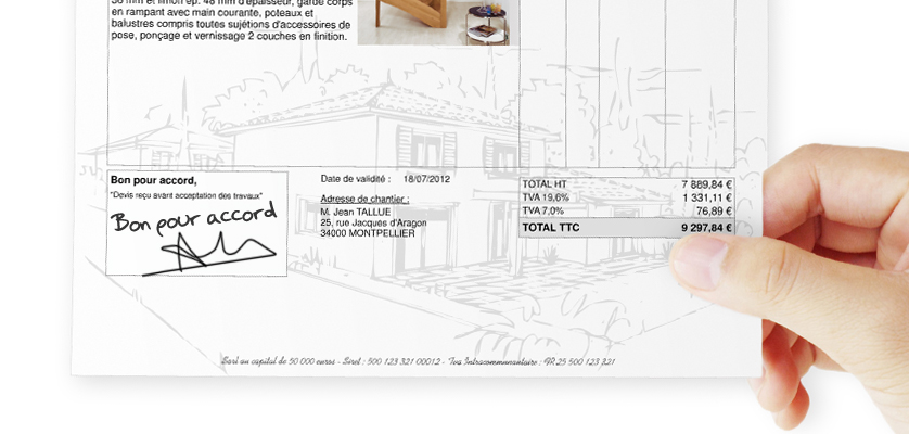 5 astuces pour faire ses devis comme un pro batappli. Black Bedroom Furniture Sets. Home Design Ideas