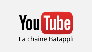 Chaine YouTube Batappli